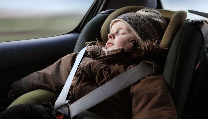 sensore per auto bambini